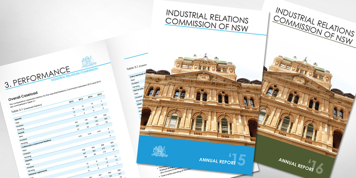 Industrial Relations Commission of NSW Annual Report